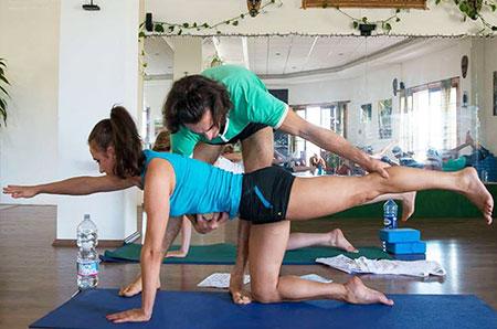 yoga posture workshop
